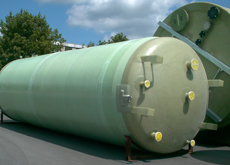 Vinylester Chemikalien Behälter