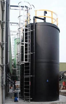 Kunststoff PE Chemikalien Behälter
