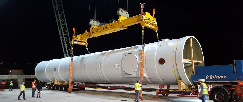 HKP Gaswasser Op Transport